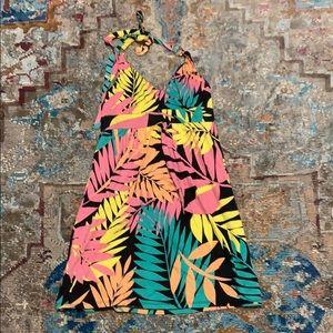 Vintage VS XS bra top halter sun dress
